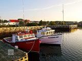 Louisbourg Fishing Boats print