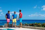Casual Bermuda Shorts IV print