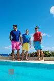 Casual Bermuda Shorts III print
