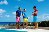 Casual Bermuda Shorts I print