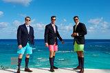 Bermuda Shorts Trio X print