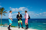 Bermuda Shorts Trio IX print