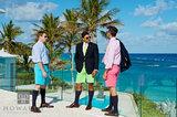 Bermuda Shorts Trio VIII print