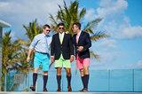 Bermuda Shorts Trio VII print