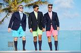 Bermuda Shorts Trio III print