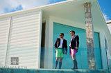 Bermuda Shorts Duet III print