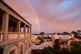 Rainbow Over St.George's I print