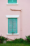 Weathered Green Shutters print