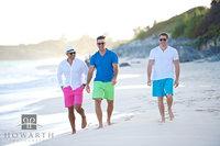 Three Friends on the Beach II
