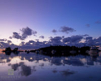 elys, harbour, reflection, somerset, purple, twilight, silhouette