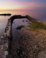 Glass Beach Sunset II