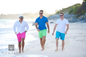 Three Friends on the Beach I