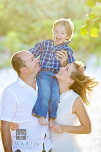 Father, Mother, Son, portrait, smiling, family,