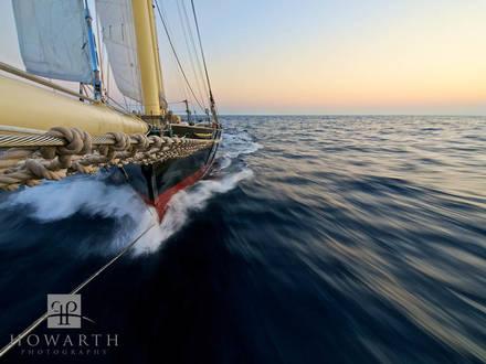 bow, ship, sailing, offshore, atlantic, sail, rider, north, sable, island, sloop, foundation