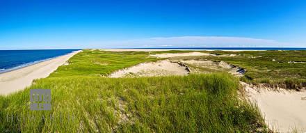 sable, island, panorama, vast, flat, grass, sand, dunes, canada,