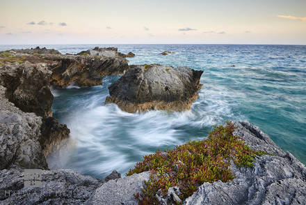 evening, hour, rocky, scene, water, movement, coopers, island, nature