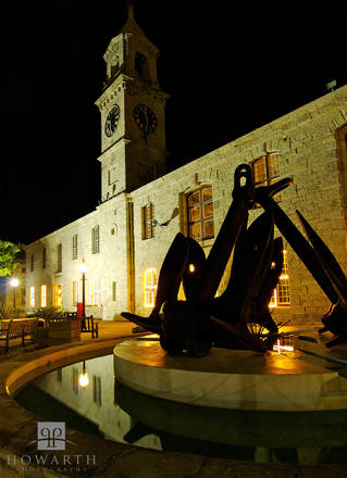 clocktower, mall, dockyard, heritage, wharf, night, shot