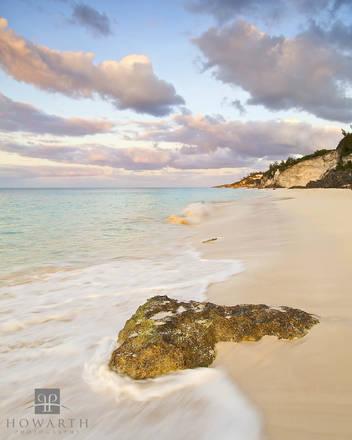 morning, beach, south, shore, warwick, early, light