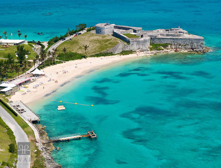 fort, st.catherine, st.georges, beach