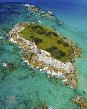 castle, islands, harbour, st.georges, cluster, roads, blue