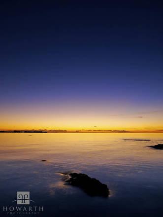 orange, band, light, purple, ireland, island, somerset, sunset,