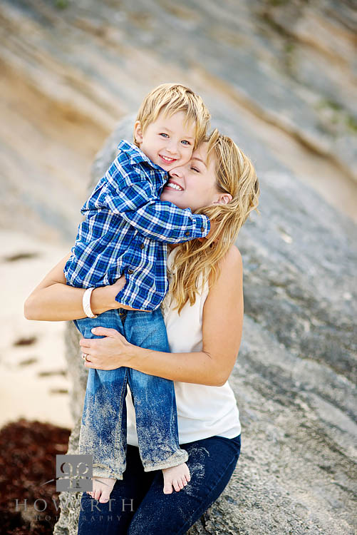 Mother, Son, hug, photo