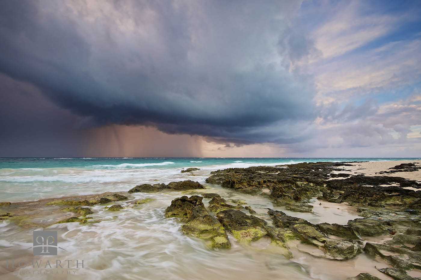 summer, squall, storm, grape, bay, paget, photo