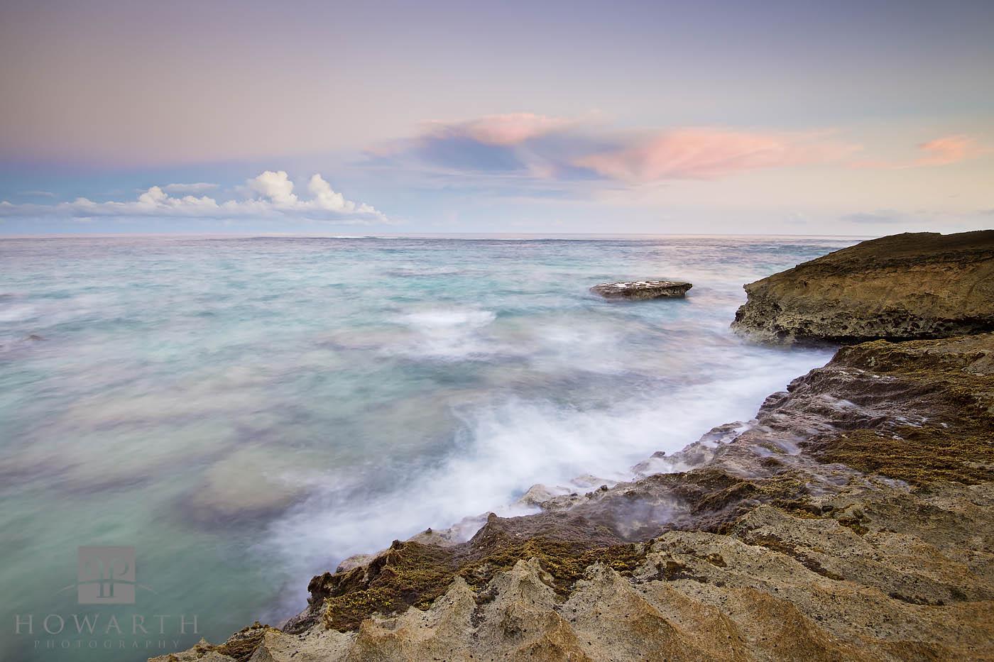 rocks, wave, crashing, spittal, pond, smiths, shoreline, photo