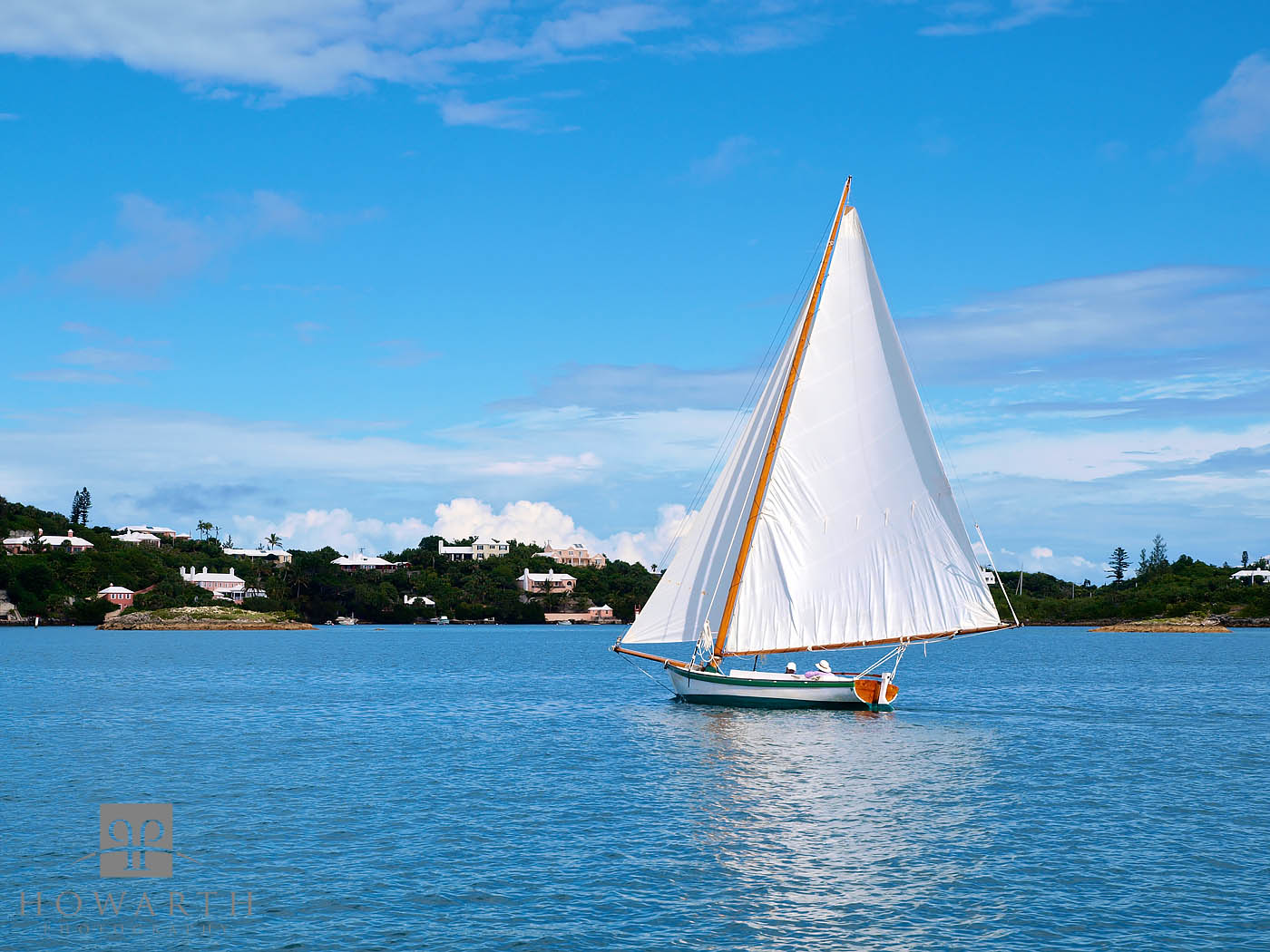 sail, relaxing, hamilton, harbour, dinghy, photo