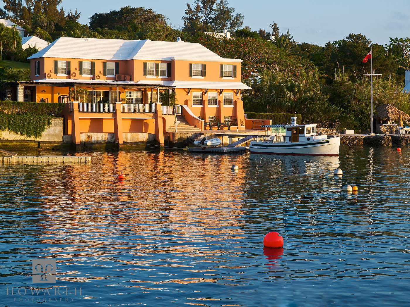 local, house, water, reflection, Bermudian, architecture, salt, kettle, paget, photo