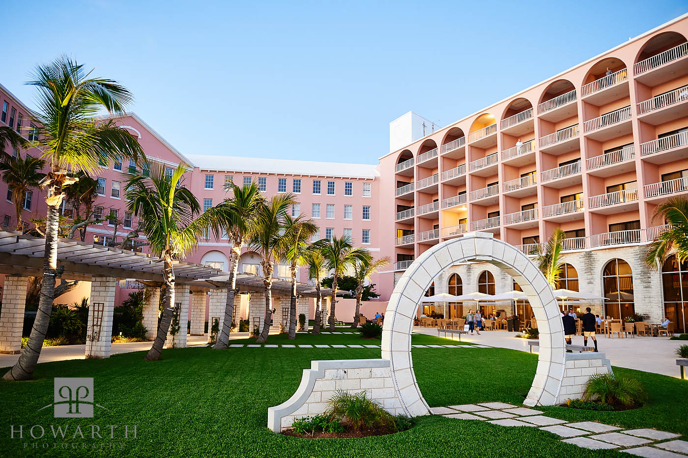 Located on the grounds of The Hamilton Princess & Beach Club Hotel