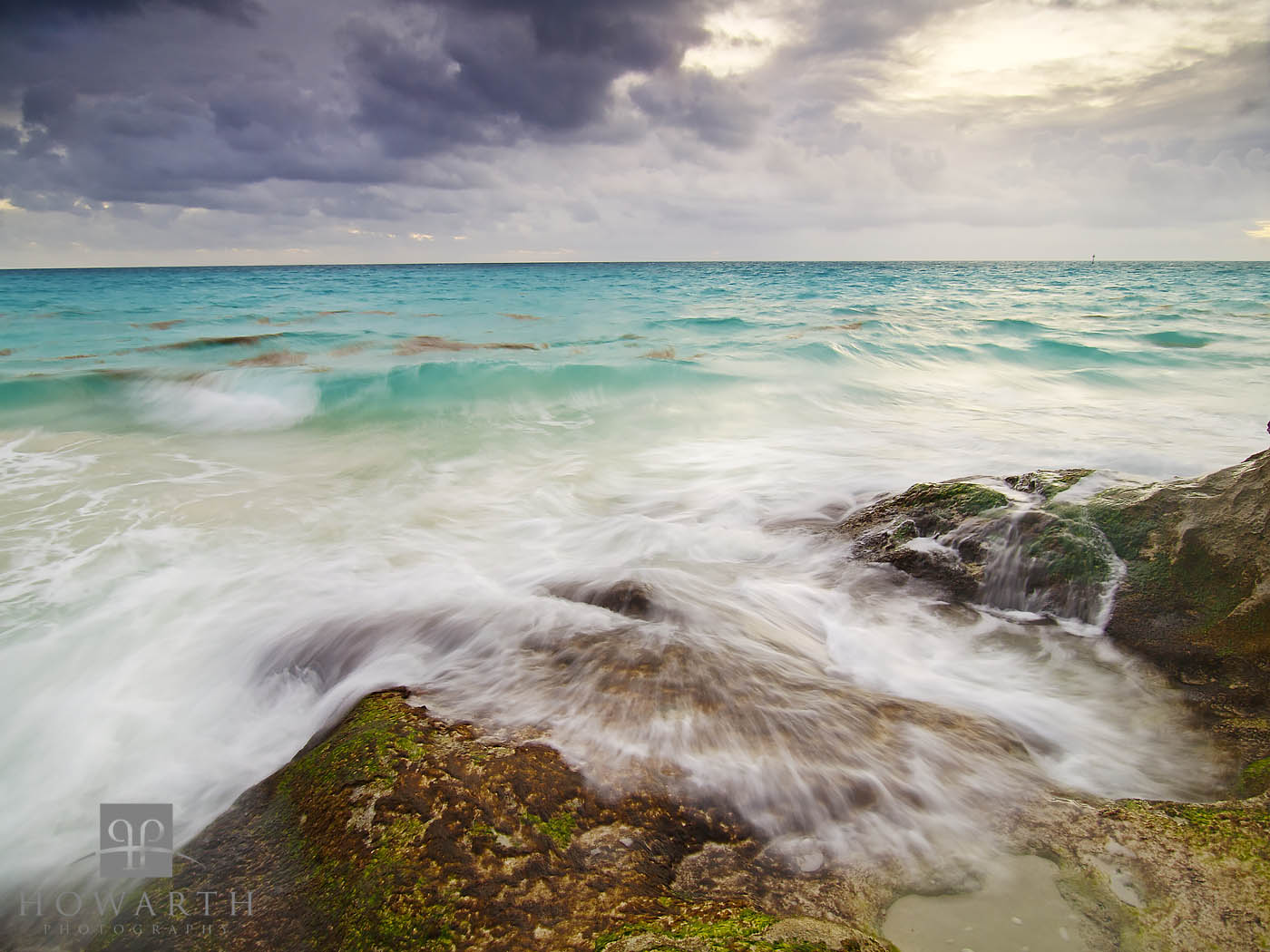 stormy, scene, whale, bay, southampton, clouds, sea, photo
