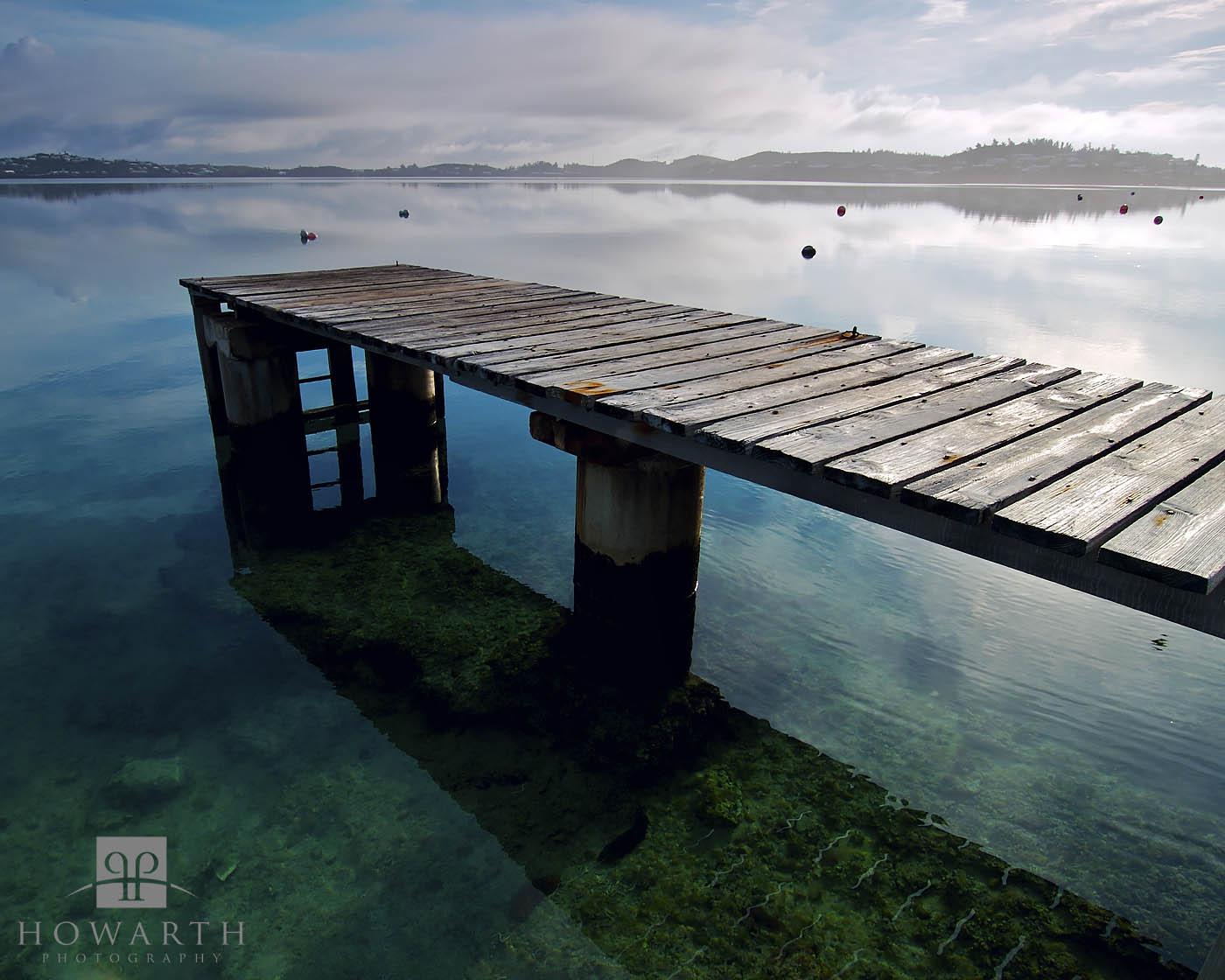 harrington, dock, smiths, sound, still, water, photo