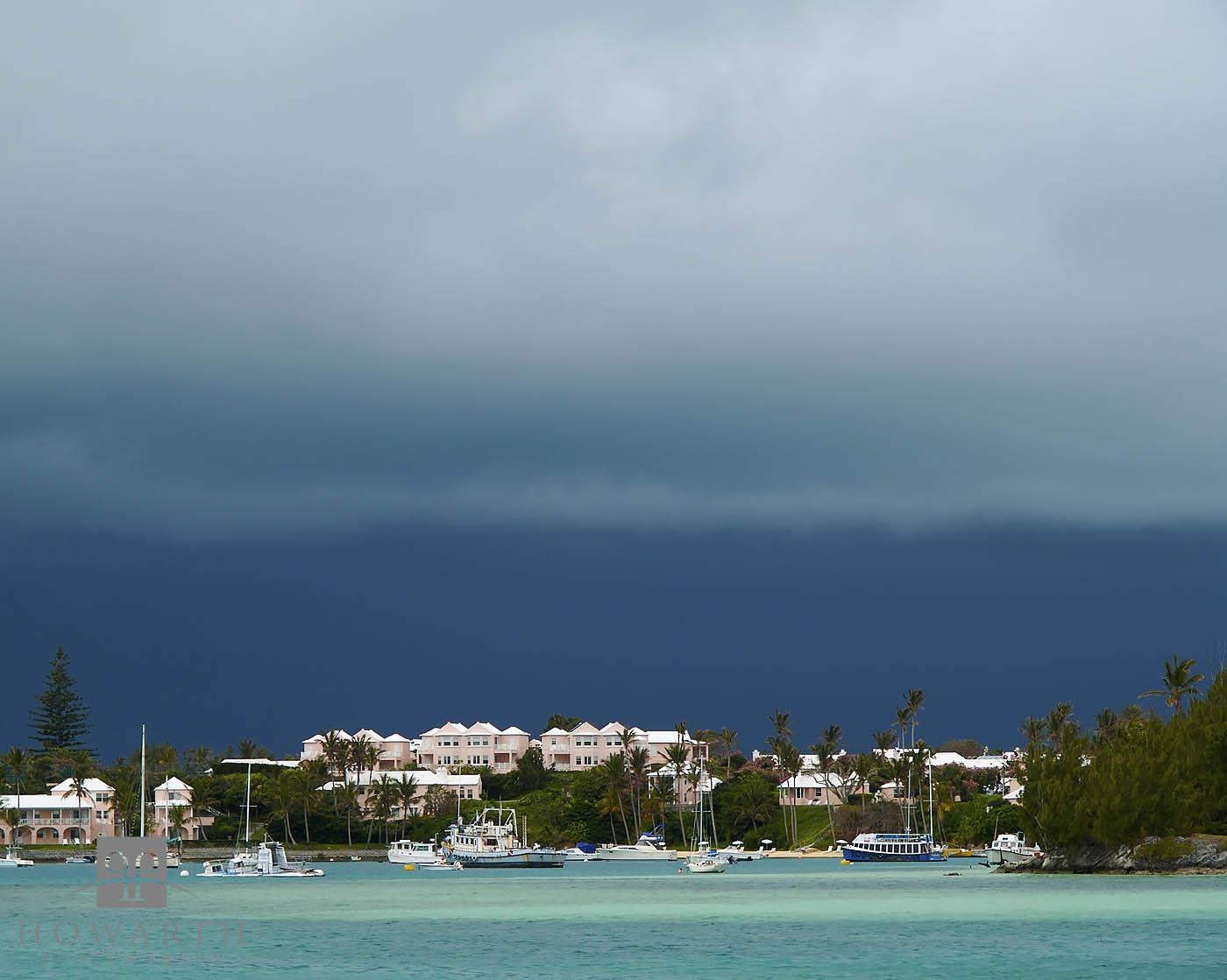 cambridge, squall, storm, rain, cloud, somerset, mangrove, bay, beaches, resort, photo