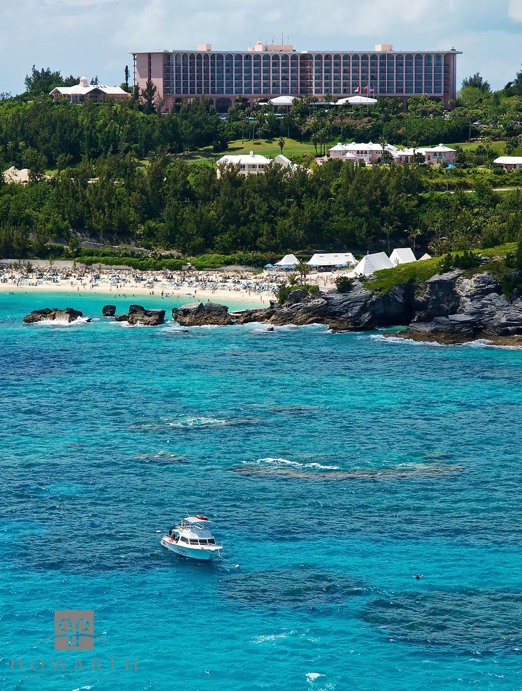 SCUBA Dive Bermuda off the Fairmont Beach