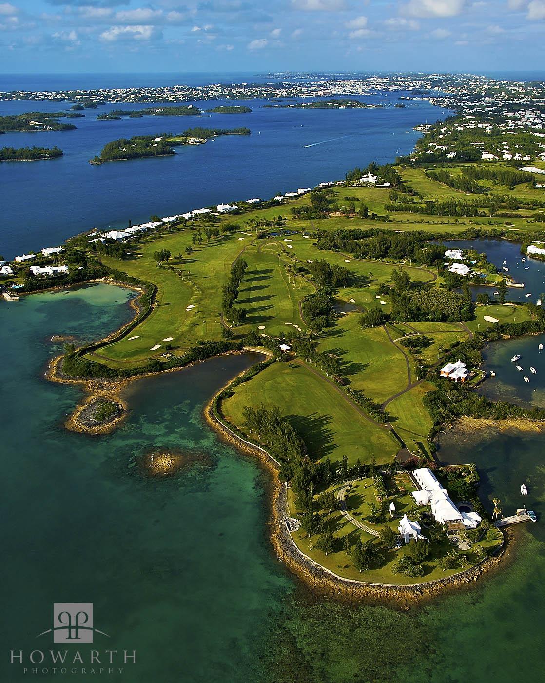 riddles, bay, golf, course, southampton, hamilton, photo