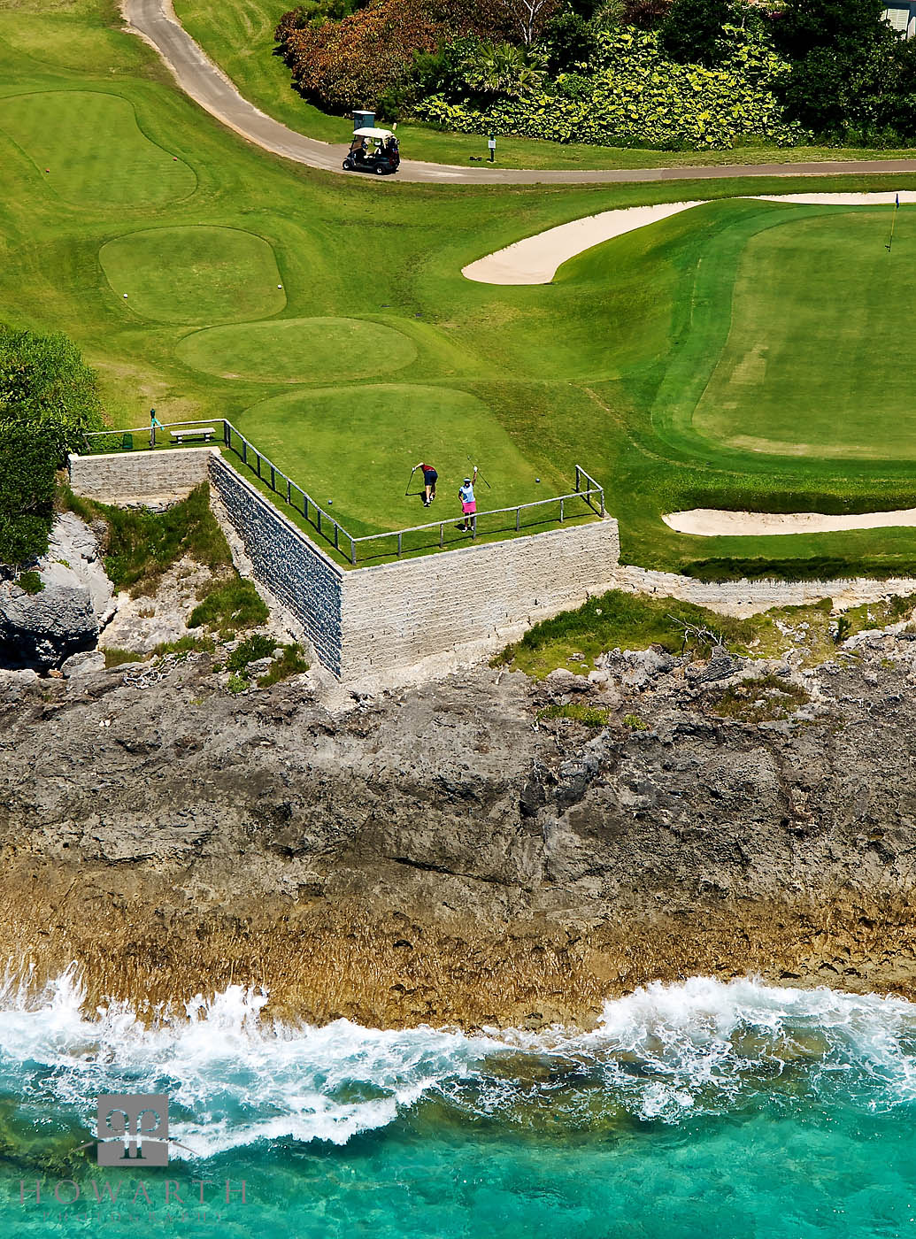mid, ocean, golf, course, hamilton, photo