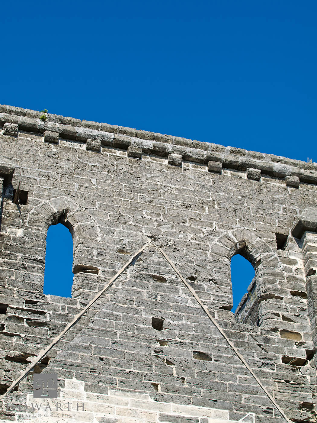 St. Georges, Unfinished Church, UNESCO World Heritage Site, photo