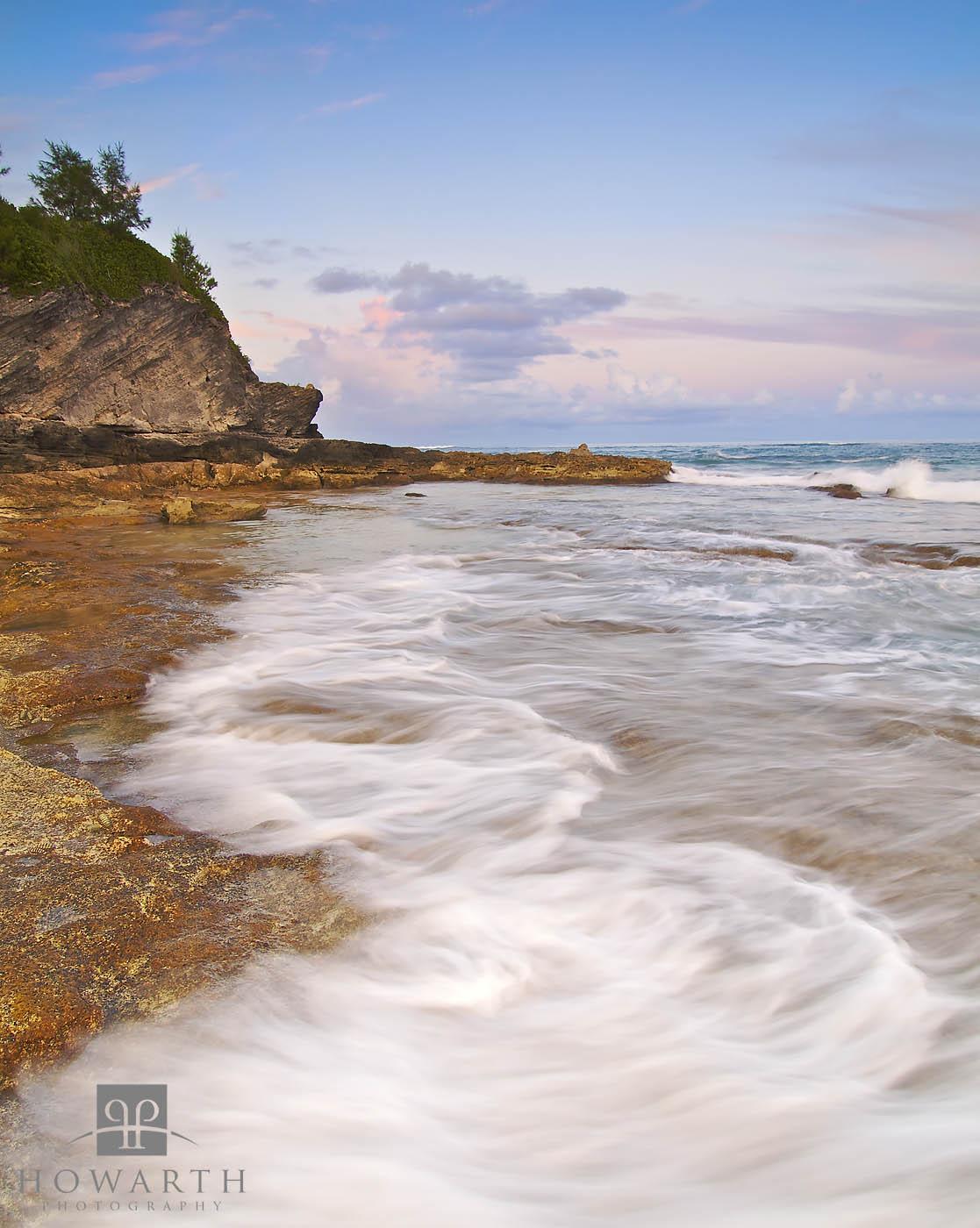 devonshire, bay, coastline, ashore, rocky, photo